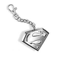 Superman Steel Emblem Key Chain