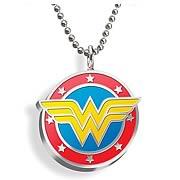 Wonder Woman Color Emblem Pendant