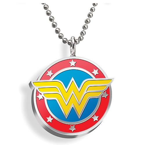 Wonder Woman Color Emblem Pendant