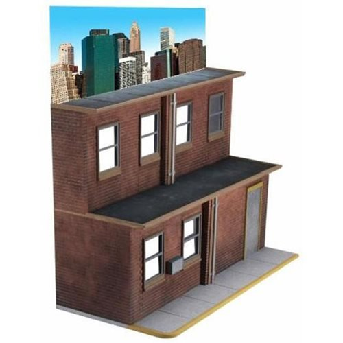 NECA Originals Street Scene Action Figure Diorama Display