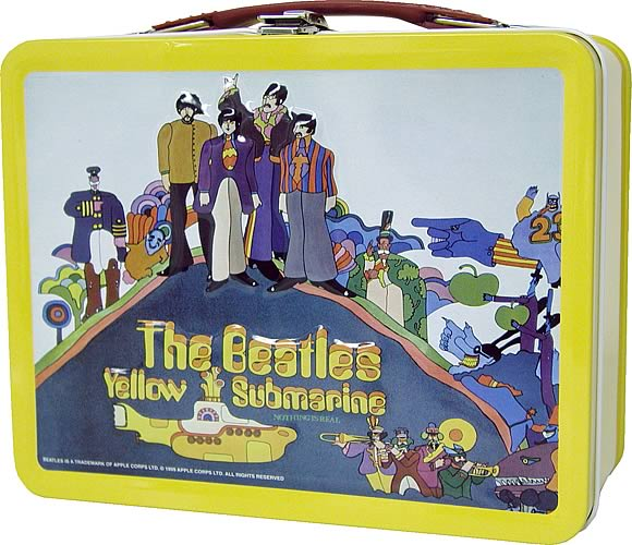 Beatles Yellow Submarine Lunchbox