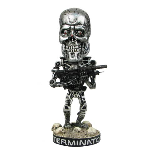 Terminator 2 Endoskeleton Head Knocker