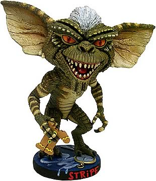 Gremlins Stripe Head Knocker, Not Mint