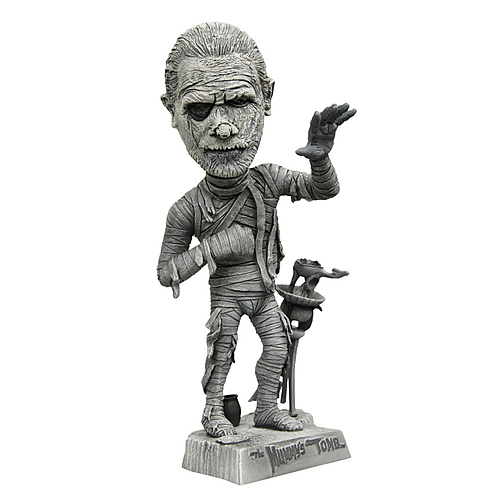 Universal Monsters Mummy Black and White Bobble Head