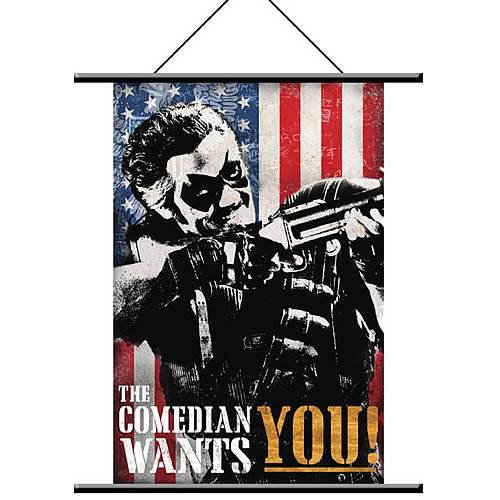 Watchmen Comedian Pop Art Wall Scroll