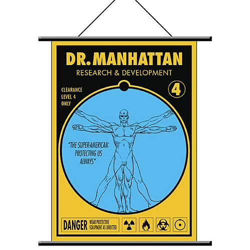 Watchmen Dr. Manhattan Wall Scroll