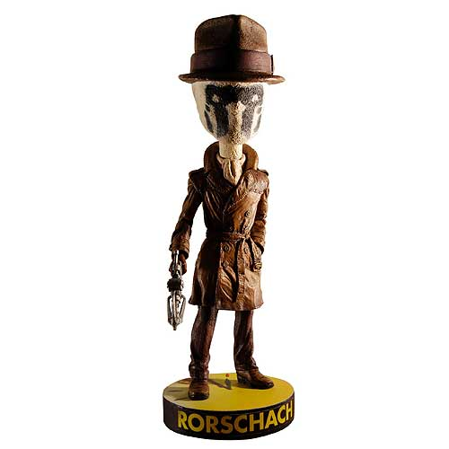 Watchmen Rorschach Bobble Head