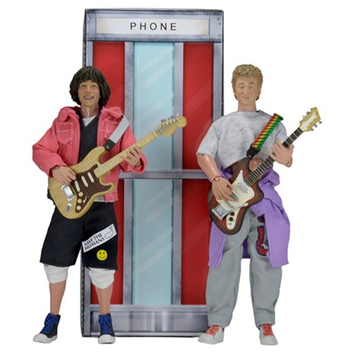 Bill & Ted's Excellent Adventure 8-Inch Action Figure 2-Pack