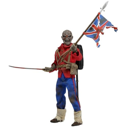 Iron Maiden Trooper Eddie 8-Inch Retro Action Figure