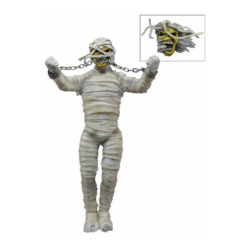 Iron Maiden Powerslave Eddie 8-Inch Retro Action Figure