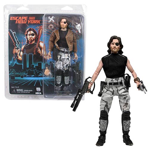 Escape from New York Snake Plissken 8-Inch Retro Figure