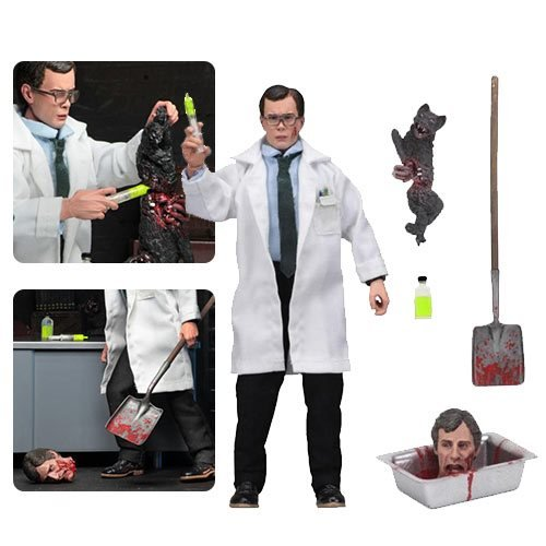 Картинки по запросу Retro Clothed Action Figures - Re-Animator - 8