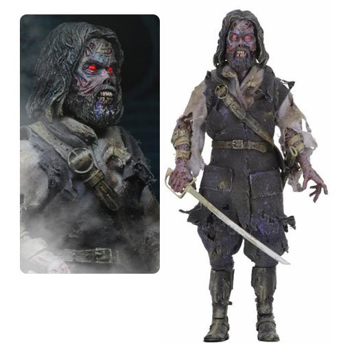 The Fog Captain Blake 8-Inch Cloth Action Figure