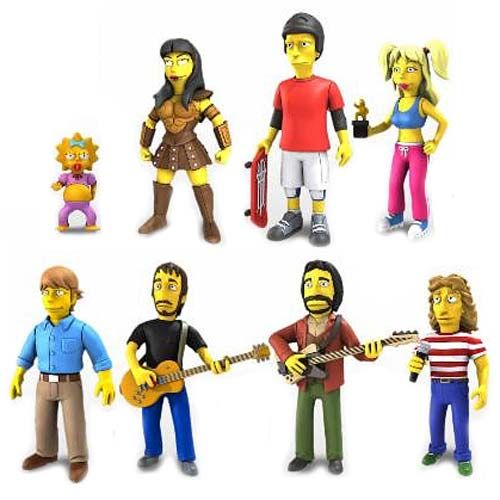 Simpsons 5-Inch Celebrity Guest Action Figure Series 2 Case