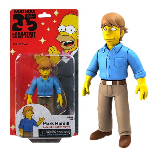 Simpsons Mark Hamill 5-Inch Series 2 Action Figure