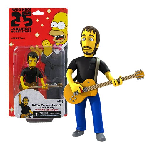 Simpsons The Who Pete Townshend Series 2 Action Figure