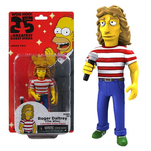Simpsons The Who Roger Daltrey Series 2 Action Figure