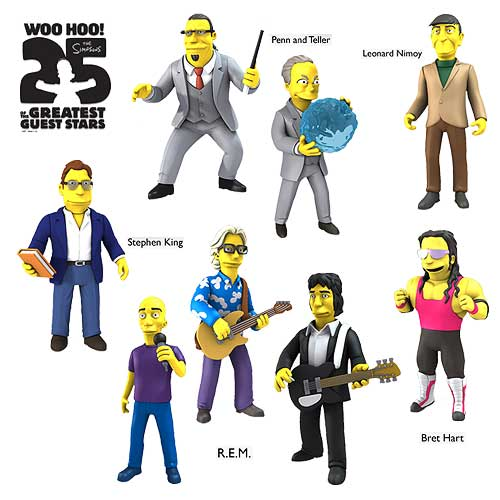 Simpsons 25th Anniversary 5-Inch Series 3 Action Figure Case