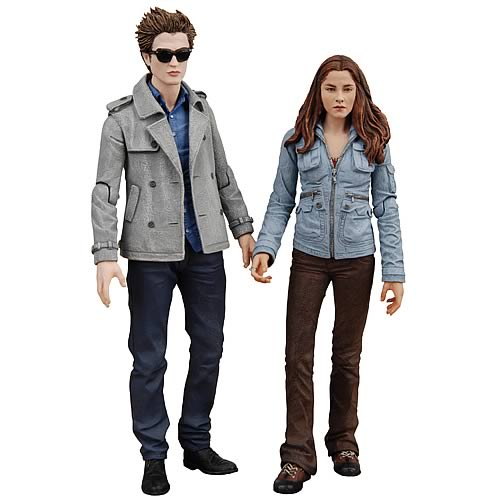 Twilight Action Figures: Edward and Bella 2-Pack