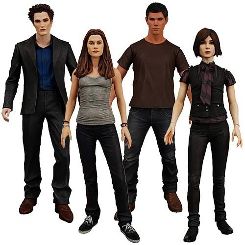 Twilight New Moon Wave 1 Action Figures Case