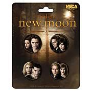Twilight New Moon Cullen Family Pin 4-Pack
