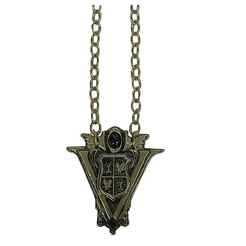 Twilight New Moon Volturi Crest Necklace Prop Replica