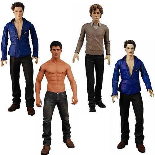 Twilight New Moon Wave 2 Action Figure Case
