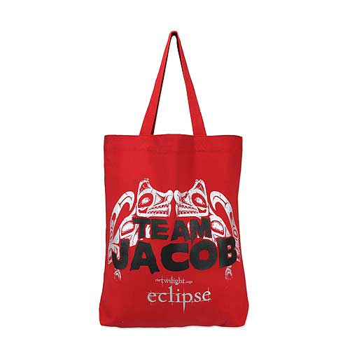 Twilight Eclipse Tote Bag Team Jacob