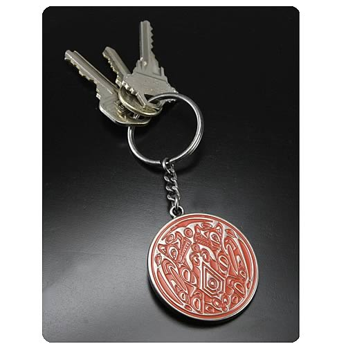 Twilight Breaking Dawn Wolf Pack Tattoo Metal Key Chain