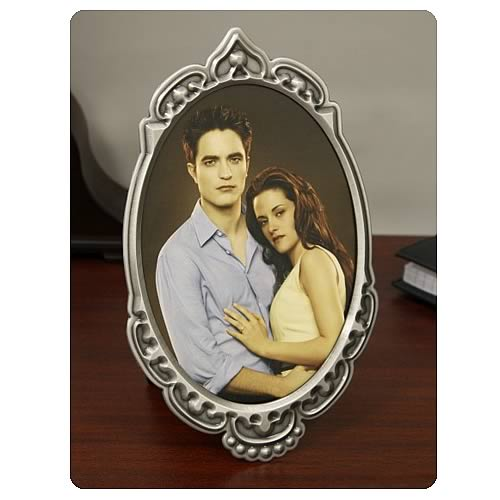 Twilight Breaking Dawn Crest Border Picture Frame