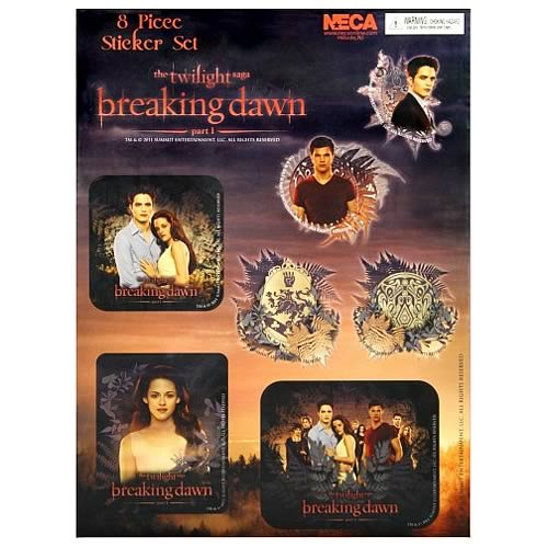 Twilight Breaking Dawn Sticker Set