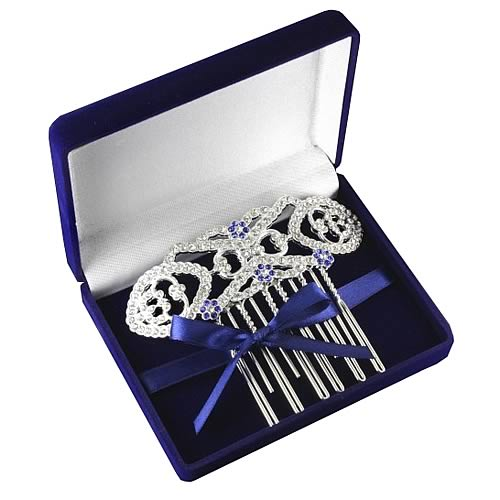 Twilight Breaking Dawn Bella Hair Comb Velvet Box Replica