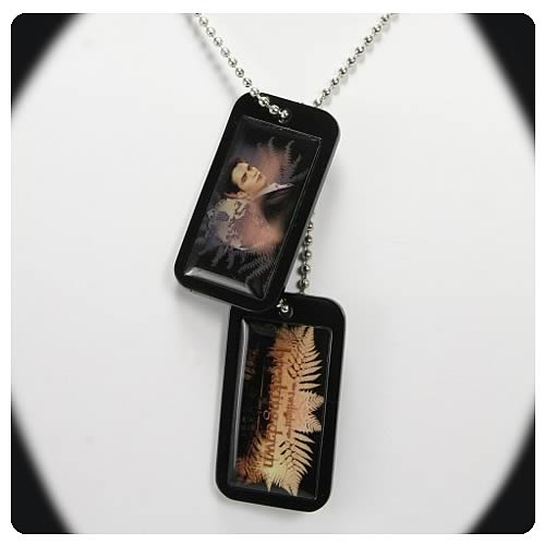 Twilight Breaking Dawn Edward Dog Tags Necklace