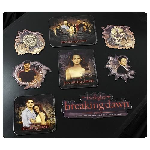 Twilight Breaking Dawn Magnet Sheet