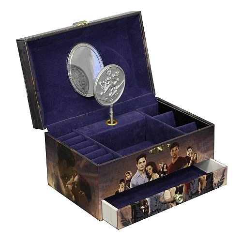 Twilight Breaking Dawn Characters Music Jewelry Box