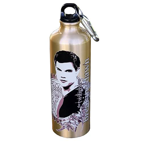 Twilight Breaking Dawn Jacob Ferns Water Bottle