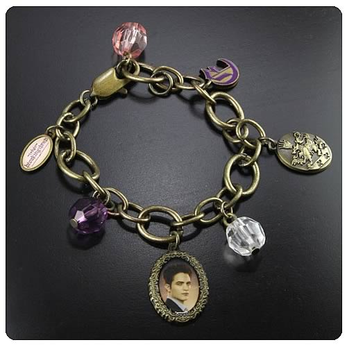Twilight Breaking Dawn Edward Charm Bracelet