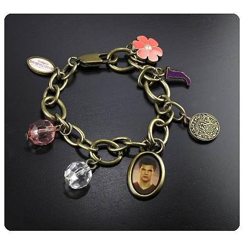 Twilight Breaking Dawn Jacob Charm Bracelet