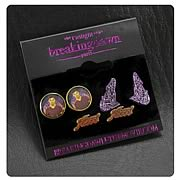 Twilight Breaking Dawn Team Jacob with Wolves Earrings Set