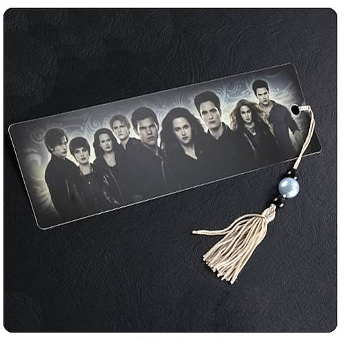 Twilight Breaking Dawn Part 2 Cast and Logo Bookmark