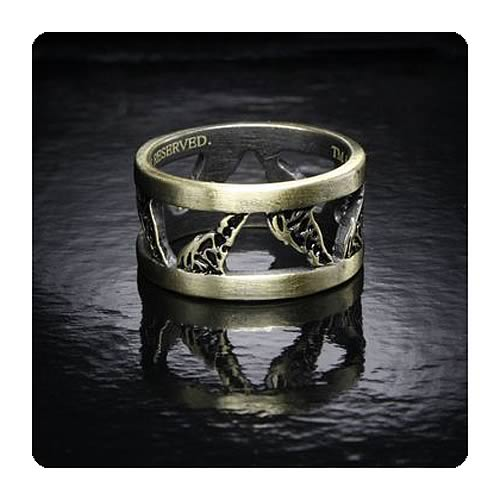 Twilight Breaking Dawn Part 2 Wolves Size 8 1/2 Ring