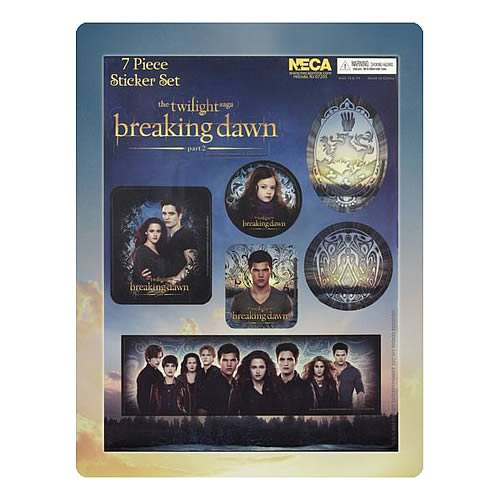 Twilight Breaking Dawn Part 2 Sticker Pack