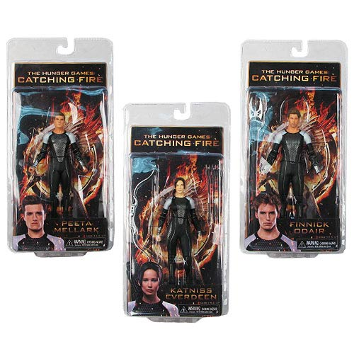 Hunger Games Catching Fire Series 1 Action Figure Case
