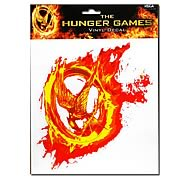 Hunger Games Movie Mockingjay Fire Sticker