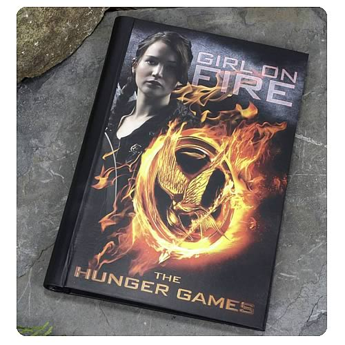 Hunger Games Movie Katniss Everdeen Girl on Fire Journal