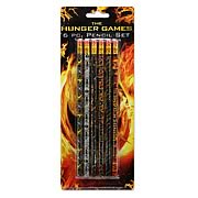 Hunger Games Movie Assorted Pencil Set 6-Pack