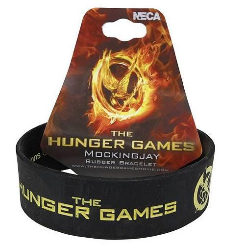Hunger Games Movie Mockingjay Rubber Bracelet