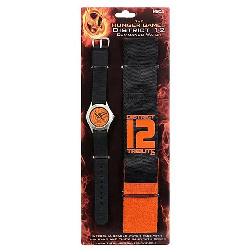 Hunger Games Movie District 12 Commando Watch