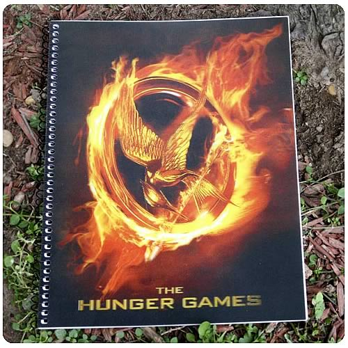 Hunger Games Movie Mockingjay Spiral Notebook