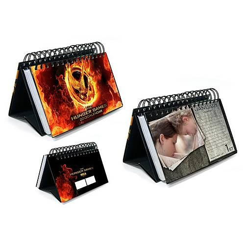 The Hunger Games Movie 2013 16 Month Desk Calendar